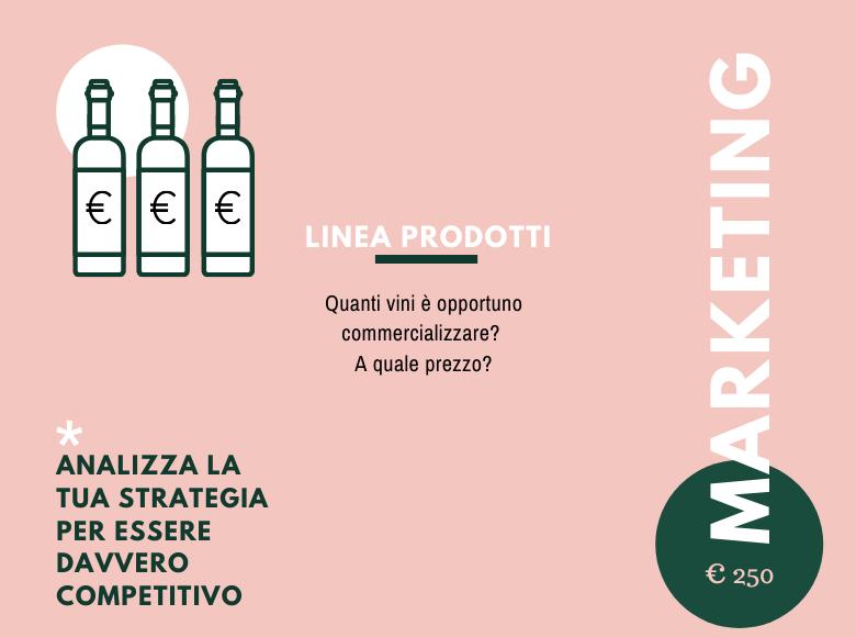 Consulenza prodotti vini