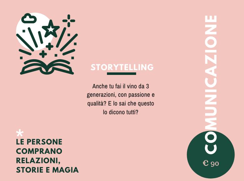 Storytelling vino